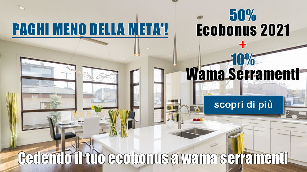 Ecobonus 2021 sconto in fattura serramenti Torino Giaveno
